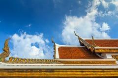 Wat Ratchanatdaram Arkivbild