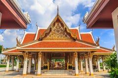 Wat Ratchanatdaram Royaltyfri Bild