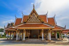 Wat Ratchanatdaram Arkivfoton