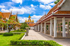 Wat Ratchanatdaram in Bangkok Royalty Free Stock Photo