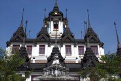 Wat Ratchanatdaram. Loha Prasat, Bangkok, Thailand, Asia Stock Photos