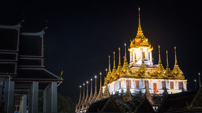 Wat Ratchanatdaram. Temple in Bangkok, Thailand Royalty Free Stock Photos