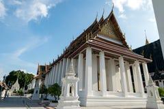 Wat Ratchanatdaram Worawihan, Banguecoque, Tailândia Imagens de Stock Royalty Free