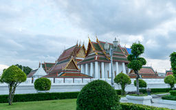 Wat Ratchanatdaram Worawihan, Banguecoque, Tailândia Foto de Stock