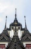 Wat Ratchanatdaram Worawihan. Iron temple Loha Prasat in Wat Ratchanatdaram Worawihan, Bangkok, Thailand Stock Photography