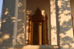 Wat Ratchanatdaramn,曼谷,泰国 免版税库存照片