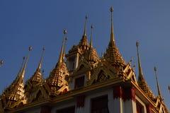 Wat Ratchanatdaramn, Bangkok, Tajlandia Zdjęcia Stock