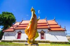 Wat rong的张菩萨在Phichit泰国 免版税库存照片