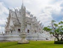 Wat Rong Khan Thailan Стоковая Фотография RF