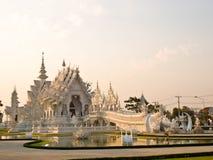 Wat Rong Khun在清莱,泰国 库存图片