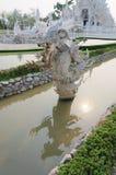 Wat rong khun寺庙 库存图片