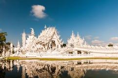 Wat rong khun,泰国 免版税库存照片