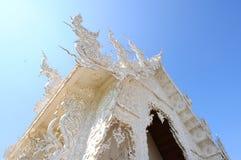 Wat Rong Khun, ναός στο Βορρά της Ταϊλάνδης Στοκ φωτογραφίες με δικαίωμα ελεύθερης χρήσης