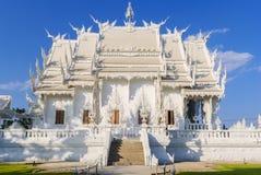 Wat Rong Khun (белый висок), Chiang Rai, Таиланд Стоковые Изображения RF