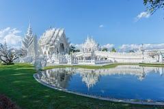 Wat Rong Khun, висок, буддийский висок Стоковые Изображения RF
