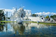 Wat Rong Khun, висок, буддийский висок Стоковое Изображение RF