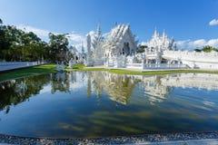 Wat Rong Khun, висок, буддийский висок Стоковые Фото
