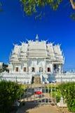 Wat Rong Khun в провинции Chiangrai, Таиланде стоковые изображения