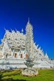 Wat Rong Khun в провинции Chiangrai, Таиланде стоковая фотография