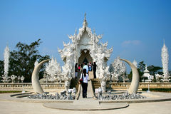 Wat Rong Khun Royalty Free Stock Photos
