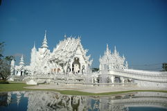 Wat Rong Khun Royalty-vrije Stock Foto
