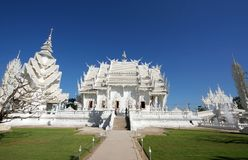 Wat Rong Khun Photos stock