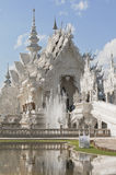Wat Rong Khun or White Temple in Chiang Rai, Thailand. Wat Rong Khun aka White Temple in Chiang Rai, Thailand Stock Photos