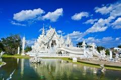 Wat Rong Khun Obrazy Stock