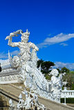 Wat Rong Khun Zdjęcie Royalty Free