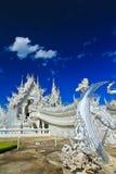 Wat Rong Khun 免版税库存照片