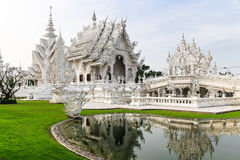 Wat Rong Khun Στοκ Εικόνα