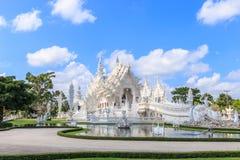Wat Rong Khun Fotografía de archivo libre de regalías