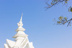 Wat Rong Khun Immagini Stock