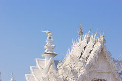 Wat Rong Khun Immagine Stock Libera da Diritti