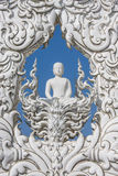 Wat Rong Khun fotografia de stock
