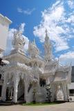 Wat Rong Khun Photos libres de droits
