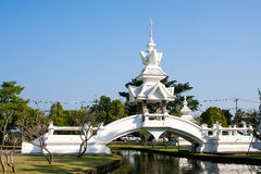 Wat Rong Khun imagem de stock
