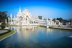 Wat Rong Khun Stockfotos