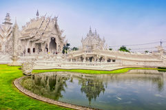 Wat Rong Khun photographie stock
