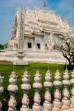 Wat Rong Khun, aka The White Temple. Chiang Rai, Thailand. Royalty Free Stock Photography