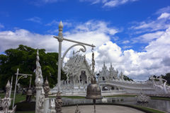 Wat Rong Khun, Architectural Details, Bell. Royalty Free Stock Images