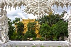 Wat Rong Khun, Balcony. Stock Image