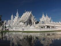 Wat Rong Khun, biała świątynia Obraz Royalty Free