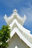 Wat Rong Khun buildings and Stock Photo