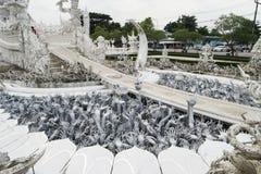 Wat Rong Khun, Chaingrai, Ταϊλάνδη Στοκ φωτογραφία με δικαίωμα ελεύθερης χρήσης
