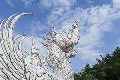 Wat Rong Khun, Chaingrai, Ταϊλάνδη Στοκ Φωτογραφίες