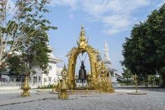 Wat Rong Khun, Chaingrai, Ταϊλάνδη Στοκ Εικόνες