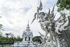 Wat Rong Khun, Chaingrai, Ταϊλάνδη Στοκ Εικόνα