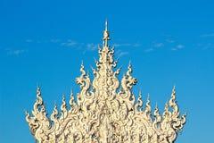 Wat Rong Khun Chiang Rai royaltyfria foton