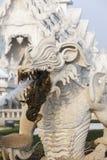 Wat Rong Khun in Chiang Rai Stock Photography
